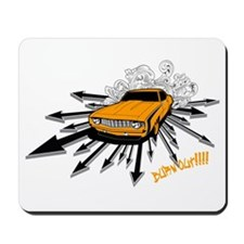 Burnout!!!! Mousepad