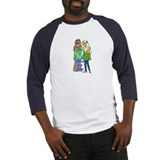Peace &amp; Love Hippies Baseball Jersey