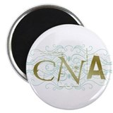 "CNA Intricate Grunge Graphic 2.25"" Magnet (10 pack"