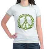 Green Recycle Peace T