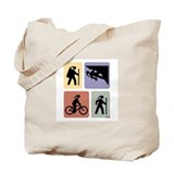 Multi Sport Grrls: Tote Bag