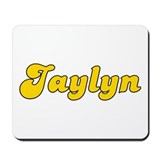 Retro Jaylyn (Gold) Mousepad