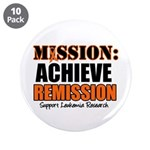 "Mission Remission Leukemia 3.5"" Button (10 pa"
