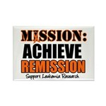 Mission Remission Leukemia Rectangle Magnet