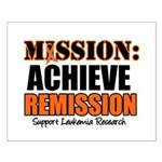 Mission Remission Leukemia Small Poster