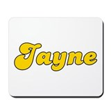 Retro Jayne (Gold) Mousepad
