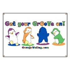 Dancing Penguins GrOoVe Banner