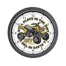 Dirt ATV Wall Clock