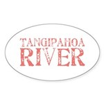Tangipahoa River Oval Sticker (10 pk)