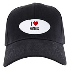 I LOVE NOODLES Baseball Hat