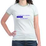 HORMONES LOADING... Jr. Ringer T-Shirt