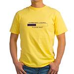 HORMONES LOADING... Yellow T-Shirt