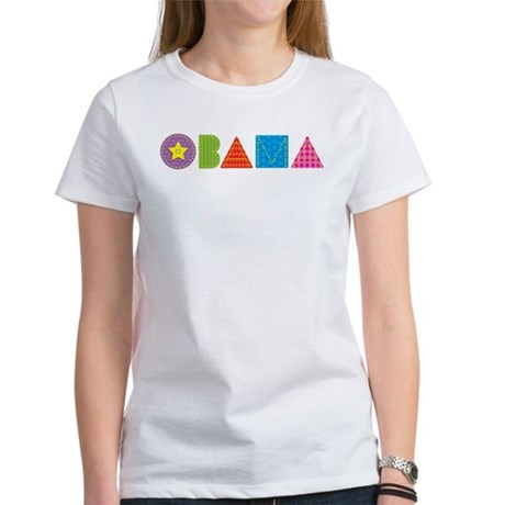 Quilted Obama Women's T-Shirt