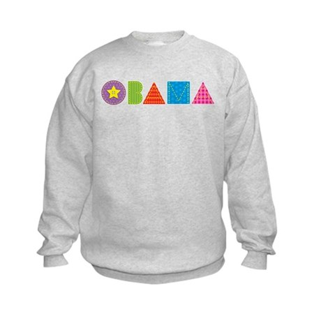 Quilted Obama Kids Sweatshirt