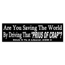 "Are you saving the world driving a ""Prius of"