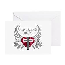 CHRISTIAN BIKER Greeting Cards (Pk of 20)