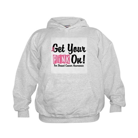 Get Your Pink On Kids Hoodie