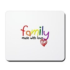 Gay Family Love Mousepad