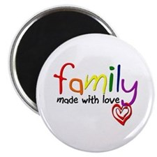 Gay Family Love Magnet