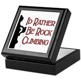 Rock Climbing Keepsake Box