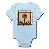 Palm Quilt Infant Creeper