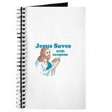 Jesus saves with coupons Journal