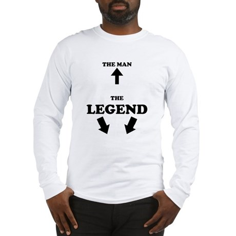 The Man, The Legend Long Sleeve T-Shirt