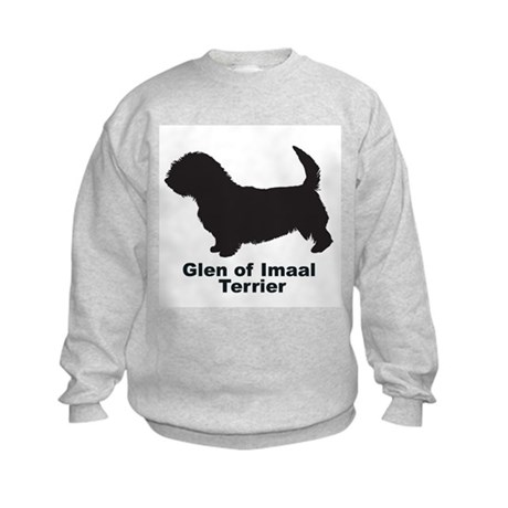GLEN OF IMAAL TERRIER Kids Sweatshirt