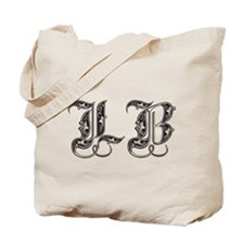 Long Beach Fancy Font Tote Bag