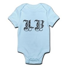 Long Beach LB Fancy Font Infant Bodysuit