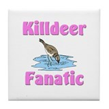 Killdeer Fanatic Tile Coaster