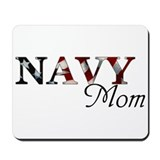 Navy Mom Mousepad