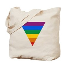 Pride Triangle Tote Bag