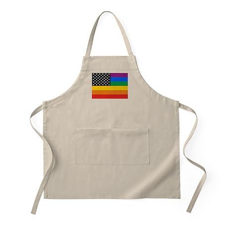 Gay Pride BBQ Apron