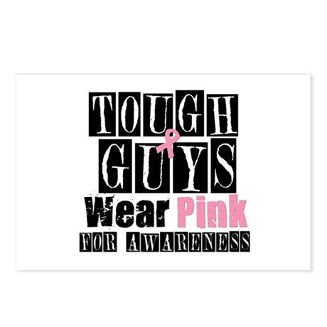 Tough Guys Wear Pink Postcards (Package of 8)