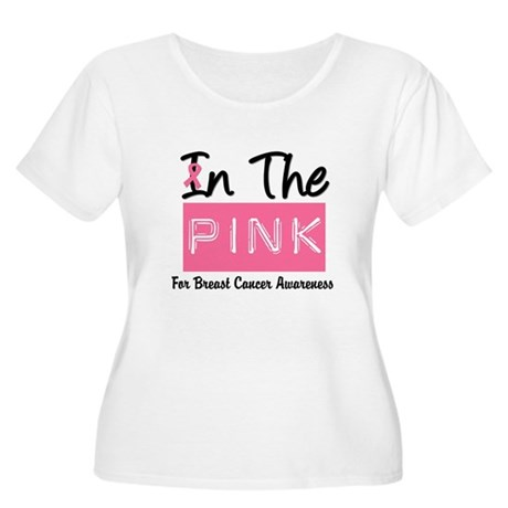 In The Pink Women's Plus Size Scoop Neck T-Shirt