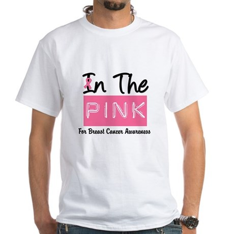 In The Pink White T-Shirt