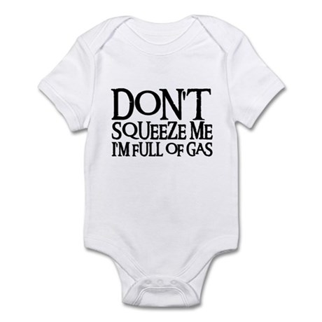 DON'T SQUEEZE (blk) Infant Bodysuit