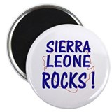 Sierra Leone Rocks ! 2.25&quot; Magnet (10 pack)