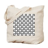 Black SQUARE Art Tote Bag