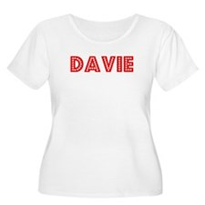 Retro Davie (Red) T-Shirt