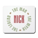 Nick Man Myth Legend Mousepad