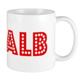 Retro DeKalb (Red) Mug