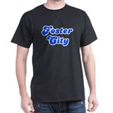 Retro Foster City (Blue) T-Shirt