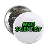 "Mad Scientist 2.25"" Button (10 pack)"
