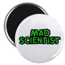 "Mad Scientist 2.25"" Magnet (10 pack)"
