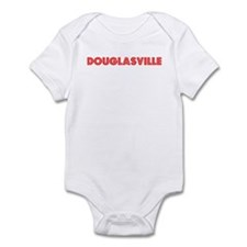 Retro Douglasville (Red) Infant Bodysuit