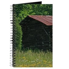 Disused Log Tobacco Barn Journal