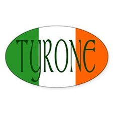 County Tyrone Oval Sticker (10 pk)
