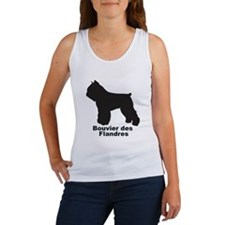 BOUVIER DES FLANDRES Womens Tank Top